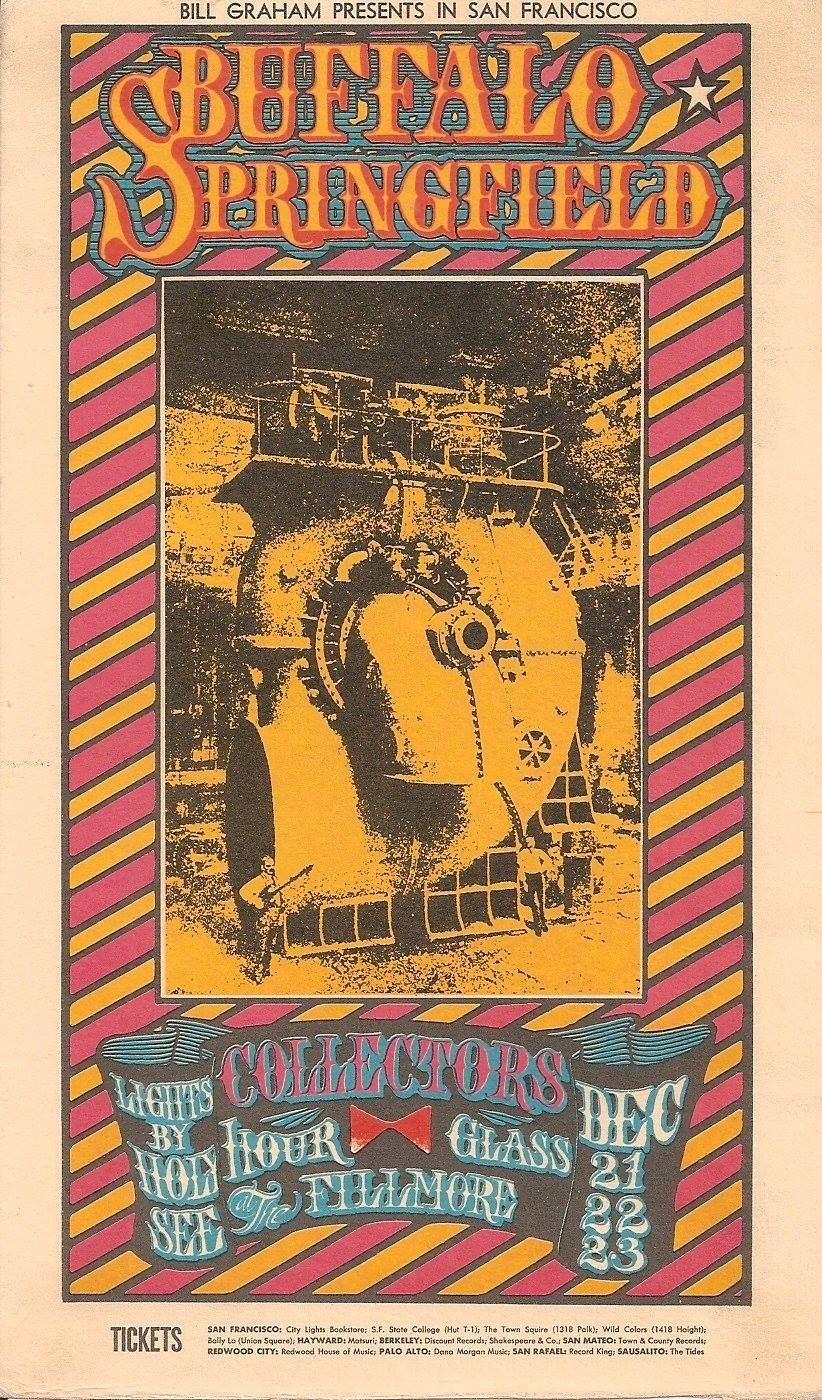 Fillmore Auditorium Handbill