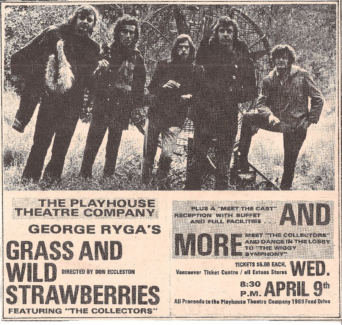 Advert for Grass & Wild Strawberries Live