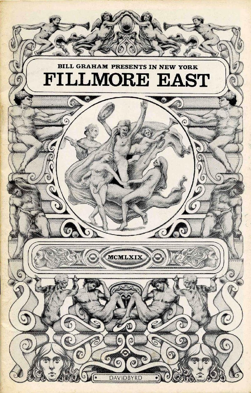 Fillmore East Programme
