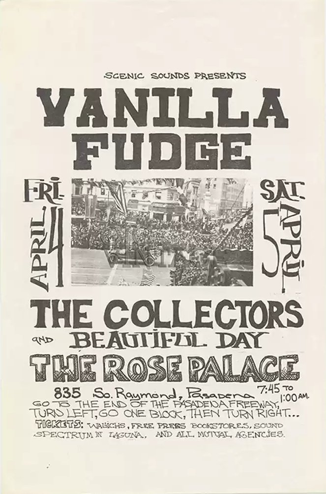 Poster for the Rose Palace, Pasadena