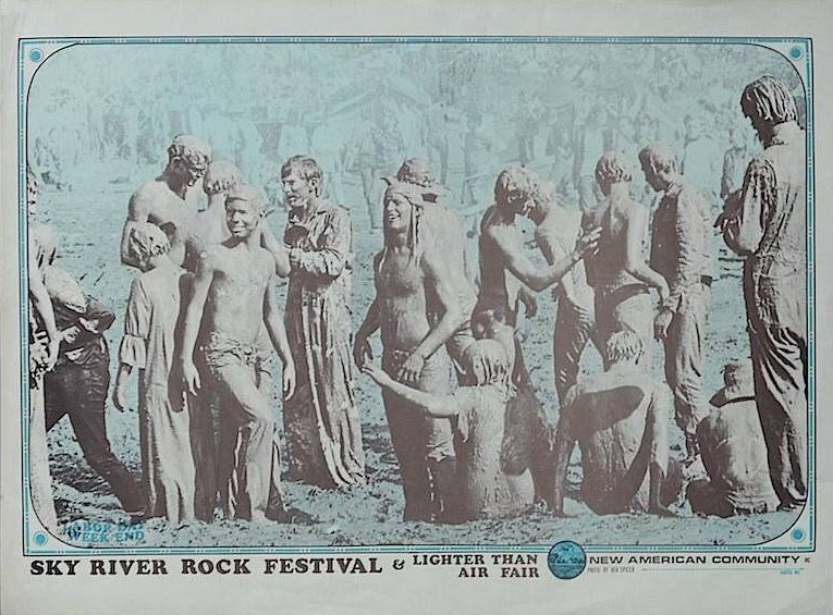 Poster for the Sky River Rock Festival